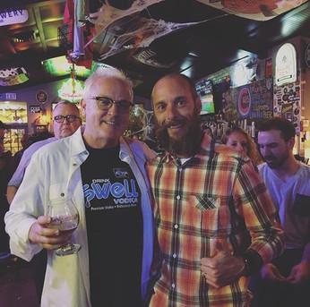 Marty Duffy - Owner of The Cellar Peanut Pub in Pella