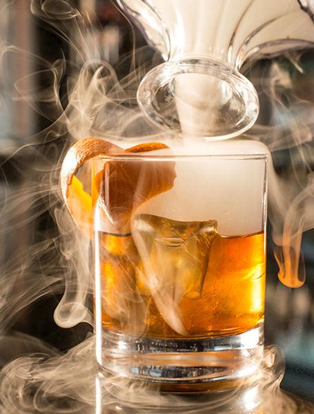 Our Smokey whiskey cocktail