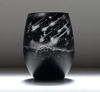 澄み夜の流星グラス