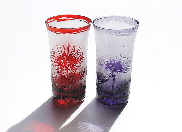曼珠沙華の一口グラス