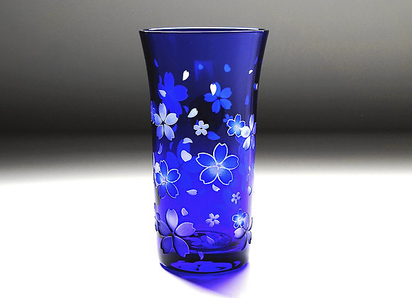 青藍の桜舞吹雪(一口サイズ)