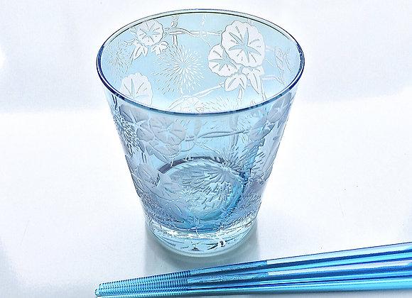 彩花蘭華グラス