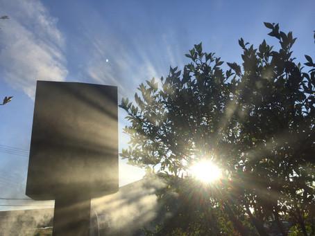 工房の朝風景