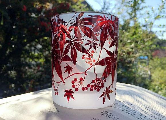楓ノバラの実グラス