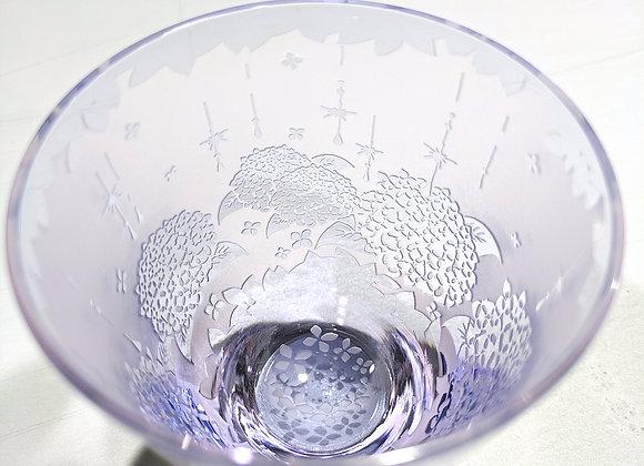 【B品】彩妃・雨時彩(あじさい)グラス