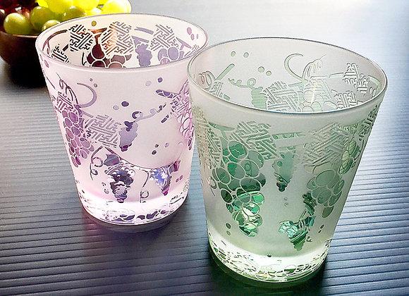彩葡萄グラス