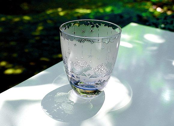 彩妃・雨時彩(あじさい)グラス