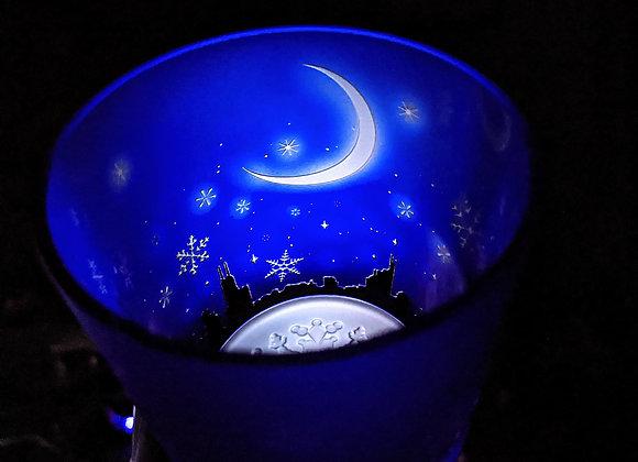 月華雪の街(冬朧)