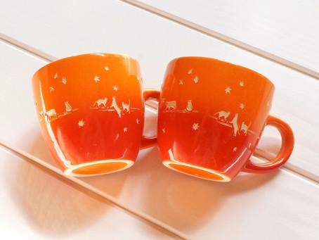秋猫マグカップ再販^_^