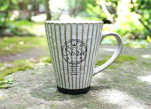 【試作品】癒しほっこりマグカップ(Sora名入れ)