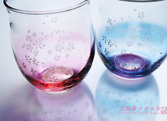 花桜舞々グラス