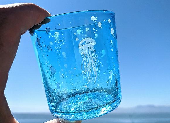 ゆらゆら癒しクラゲ(薄藍海月)