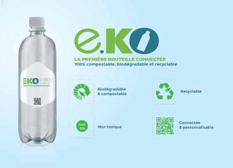 bouteille biodégradable végétale compostable veganbottle lyspackaging