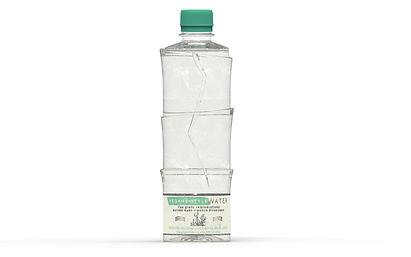 veganbottle water vegetale water eau bio