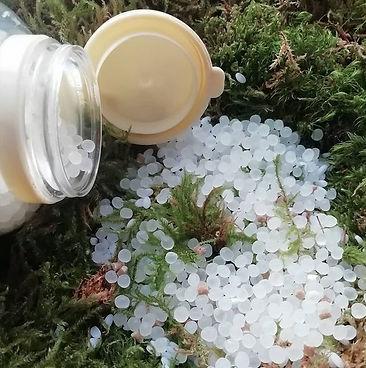 pilulier granulé bouteille biodégradable