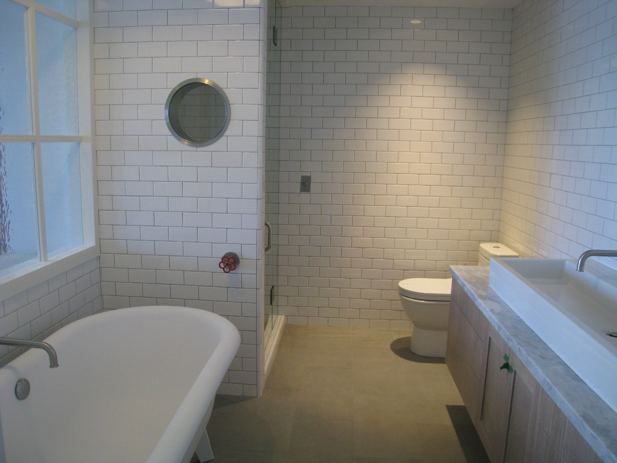 Master Bathroom, Coal Harbour, Vancouver