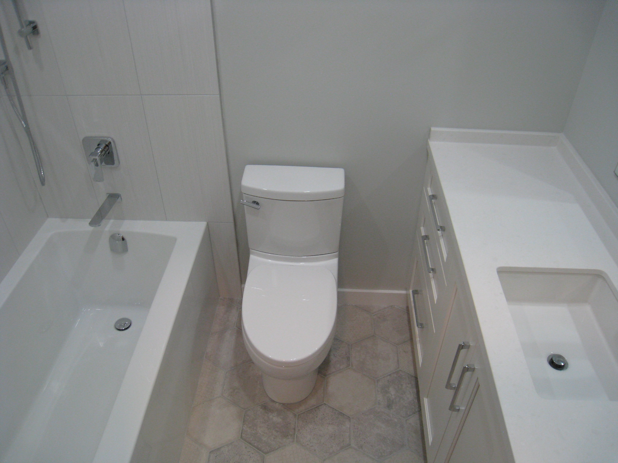 Bathroom Renovation, West End, Vancouver