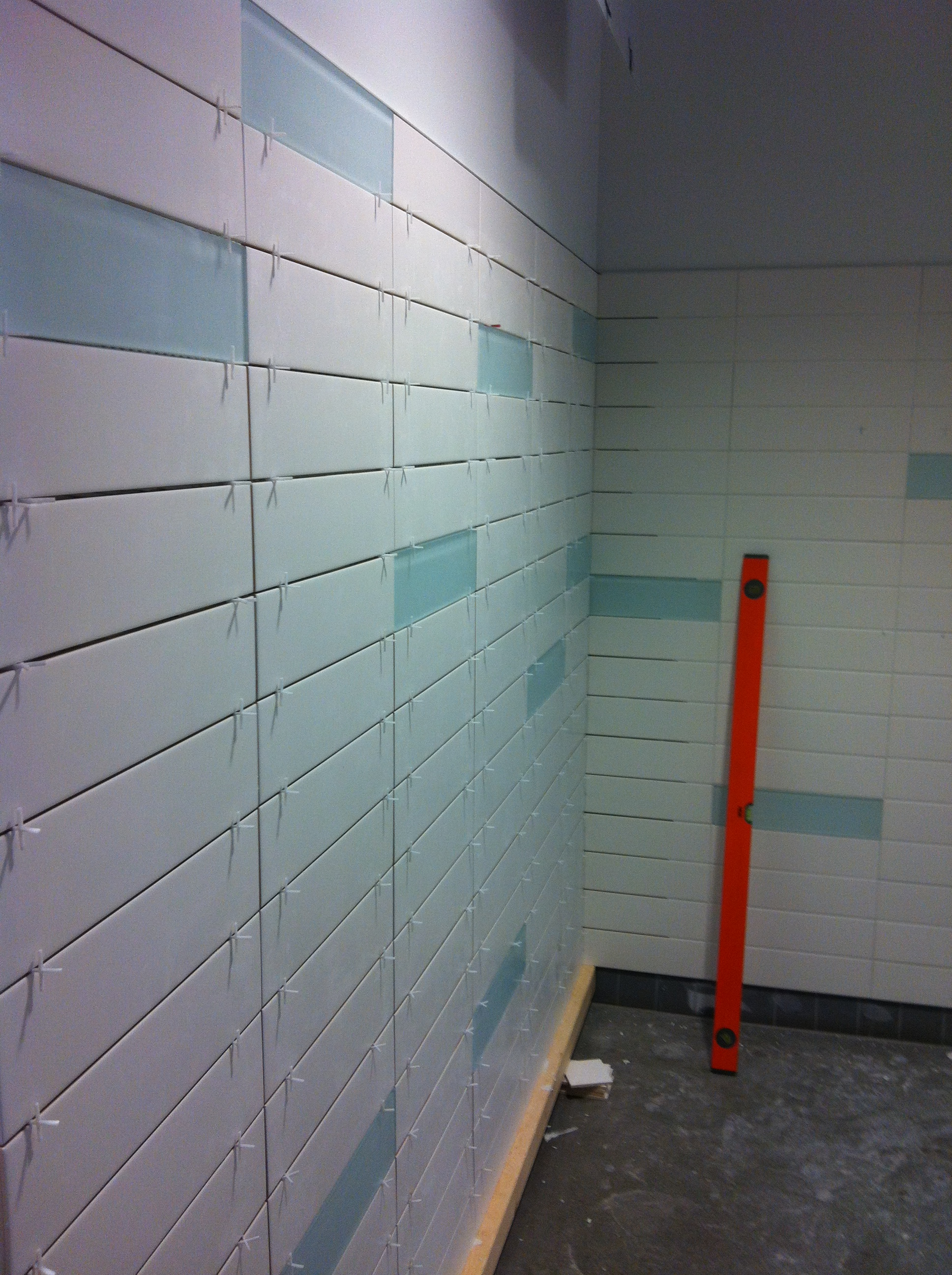 Community Centre Shower Renovation