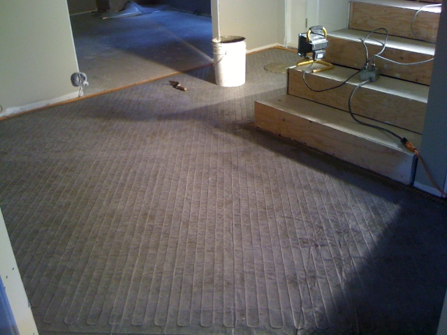 Custom Underfloor Heating Mat