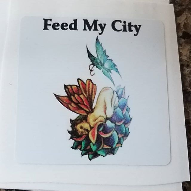 This is the official logo for feed my city if you see anything different they are not legally with us