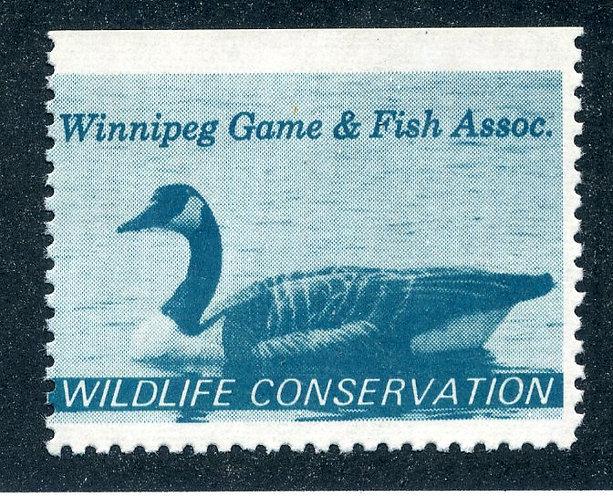 van Dam MWM1 - Winnipeg Game and Fish Association - perf variety - 11.8 x imper