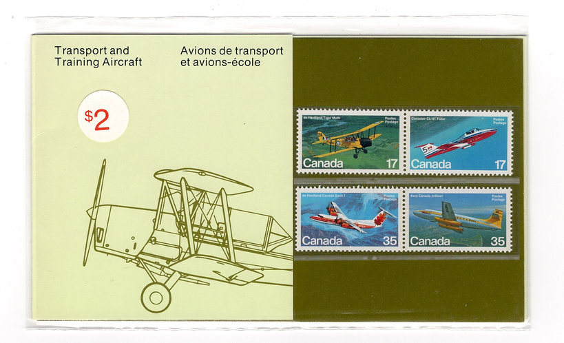 1982, Thematic Collection #18, Transport and Training Aircraft