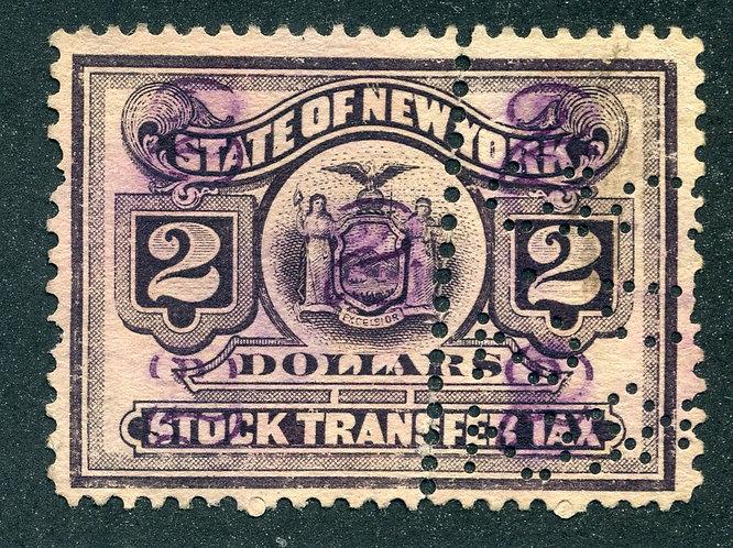 NY ST111 - misperf - $2 New York Tax Transfer