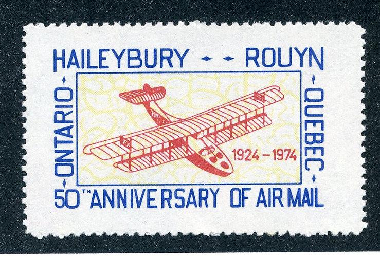 """Haileybury-Rouyn - MNHOG - """"Cinderella"""" semi-official50th anniv."""