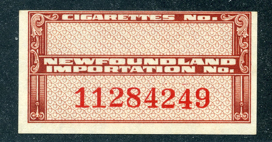 NT-163 CP - imperforate - design 42 x 21 mm. - with 3½ mm. red control numbers