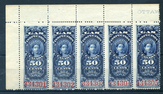 Recent Variety and EFO Finds in Revenue Stamps and Others.