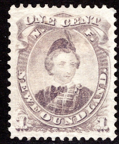 32, NSSC, Newfoundland, Canada, 1c, VF/XF, MNG, Prince of Wales, Scott 32