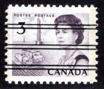 456pxx Scott - #456p precancelled, PVA, Tagged GT2, Canada postage stamp