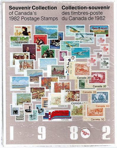 1982 Annual Collection - An annual Souvenir Collection of the Postage Stamp of C