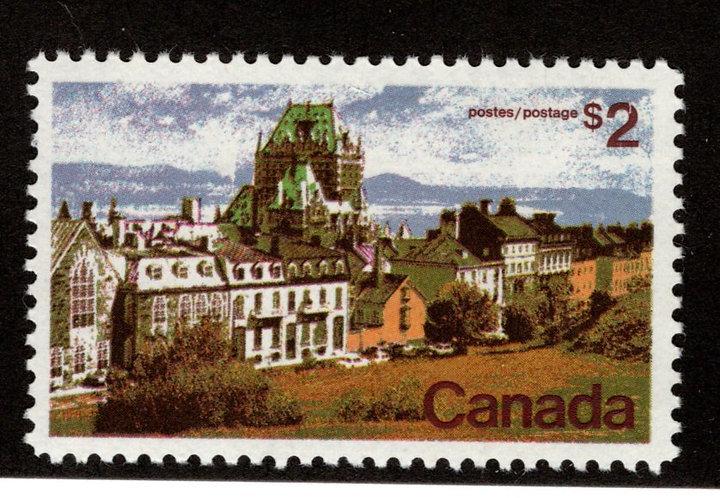 601 Scott - $2, VF, MNHOG, LandscapeDefinitive 1972-77, Canada Postage Stamp