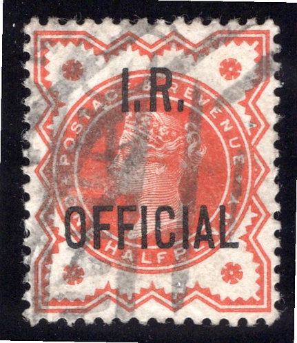 "Great Britain O11 Used Inland Revenue Official ""Victoria"" (1888)"