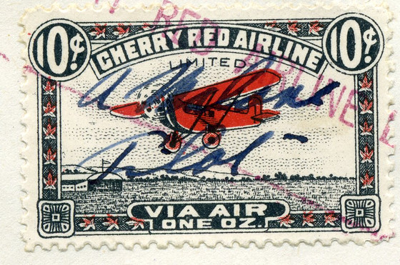 Cherry Red Airline Ltd. First Flight Cover