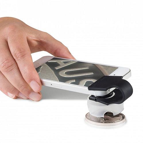 PHONESCOPE Macro Lens for Smartphones - 60X Digital microscope magnification