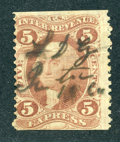 R25b - 5c - Express Revenue- Red - Part perf - used -crease