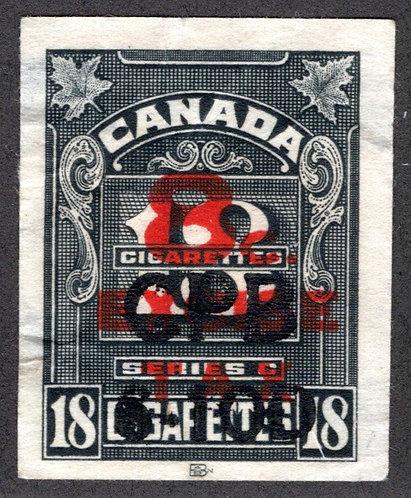 "Ryan RC780 - Brandom C608 - Series ""C"", 8c on 18 Cigarettes, Used"