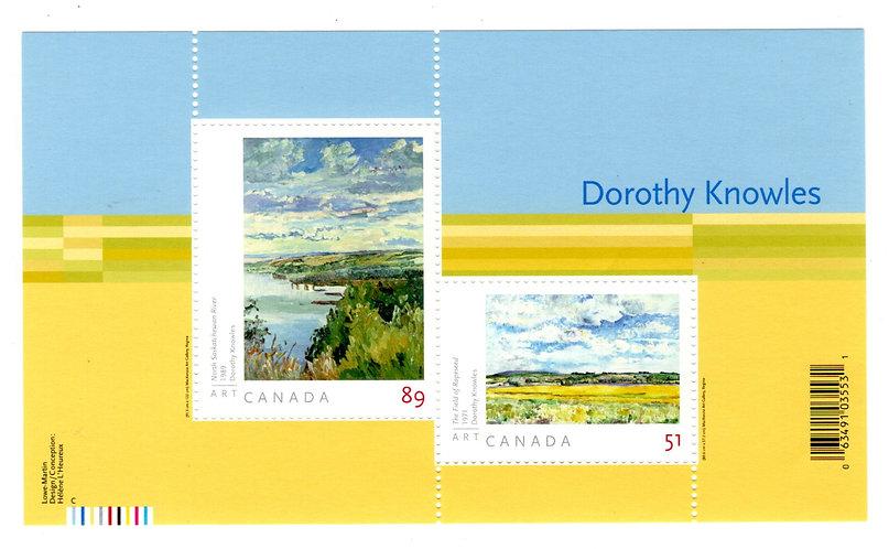 2148, Canada, $1.40 Souvenir Sheet, Art Canada : Dorothy Knowles, MNH