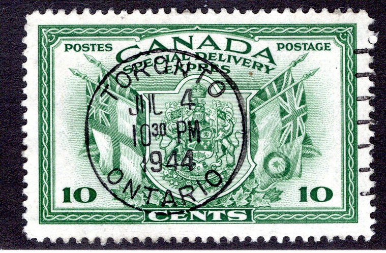 E10 - 10c - SOTN Cancel - Special Delivery - VF - Used