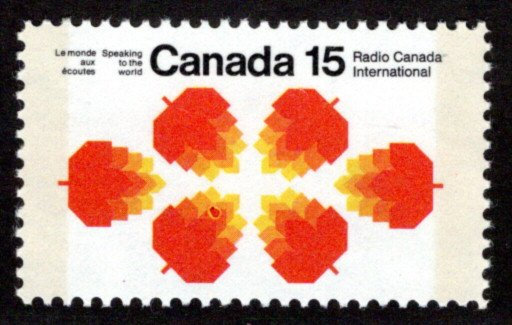 "541pi, Scott,15c, ""bug on leaf"" variety, W2B,MNHOG, Canada PostageStamps"