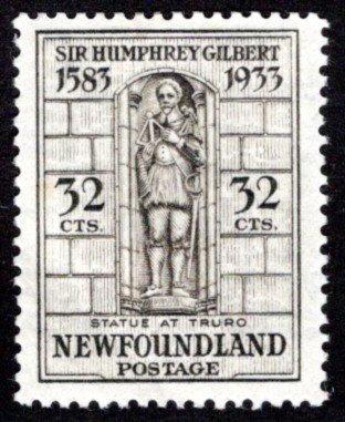208b, NSSC, Newfoundland, 32c, F/VF, MLHOG, Gilbert, inv w/m pos.3, Scott 225