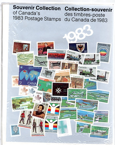 1983 Annual Collection - An annual Souvenir Collection of the Postage Stamp of C