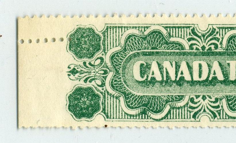 Ryan RT141 - Misperf Error - Misplaced horizontal perf - Canada Twist Tobacco