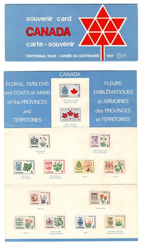 1967, Thematic Collection #9, 1967 Stamp Souvenir Collection