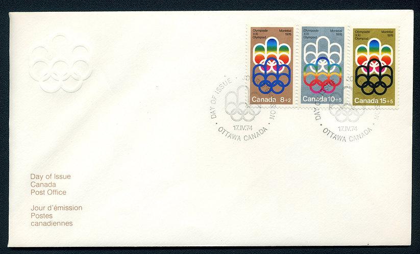 Scott B1/B3-Combination FDC - COJO Olympic Symbol