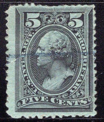 Scott RB16b, 5c Black Proprietary, Used, blunt perfs