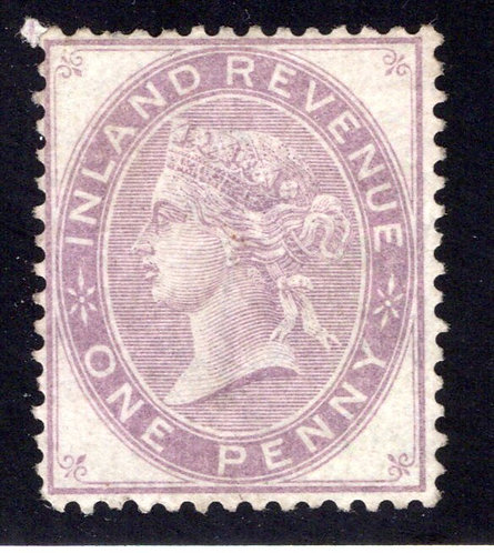 Great Britain,QV, Inland Revenue, One Penny, MHNG