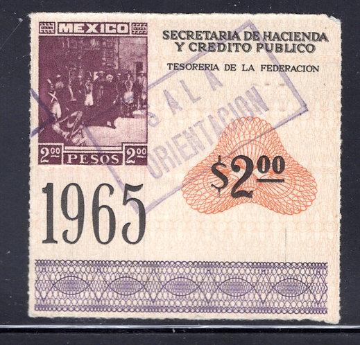 EN 3, Mexico, 2P, Admission / Entrada Revenue
